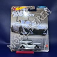 Hot Wheels Premium Fast & Furious Full Force 17 Acura NSX Silver