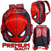 Tas anak sekolah laki laki sd karakter Spiderman - tas ransel sekolah