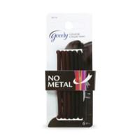 Goody color collection 05115 4mm no metal elastics (black hair)