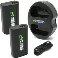 Wasabi Power for Panasonic DMW-BLJ31 DC-S1 DC-S1H DC-S1R DCS1 DCS1H - Paket 2 Baterai