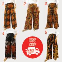 celana kukot panjang / celaba kulot batik / kulot motif/ distributor