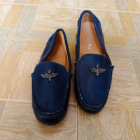 BOBDOG/Slip on wanita kulit/Sepatu wanita second import/Sepatu wanita