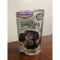 Brownies kukus panggang pondan 230gr