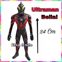 Mainan Ultraman Rosso Blu Belial Action Figure Vynil Material