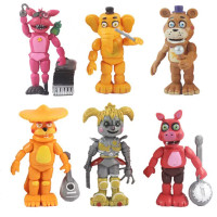 Generasi 2 - REAL Figure set Five Night at Freddy / Mainan five night
