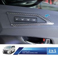 JSL Panel Kontrol All New Alphard Control Panel Cover Carbontivo