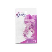 Goody 71291 elastic, mini polybands crystal 75ct ikat rambut kunciran