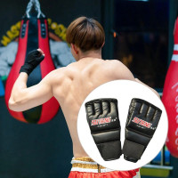 HALF Sarung Tinju Muay Thai Boxing Tinju - Sarung Tangan Gloves MMA