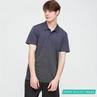 Kaos Olahraga Running Jersey Polo Pria Uniqlo Dry-Ex Polo Shirt
