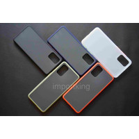 Samsung s20 plus SOFT CASE MATTE COLORED FROSTED