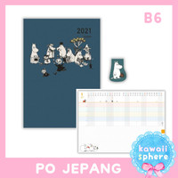 Moomin Planner 2021 Size B6 | Monthly Planner