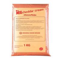 Meg Cheddar Cream Cheese 1kg