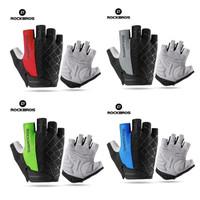 Gloves Rockbros Sarung Tangan MTB Sepeda Half Finger Gloves Original