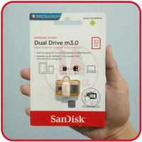 Flashdisk OTG 32GB Sandisk Ultra Dual Usb Drive M3.0 Original