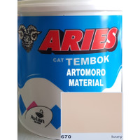 Cat Tembok 5 Kg TERMURAH Aries Avitex Avian Krem Cream (Ivory 670)