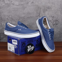 Sepatu Vans X Suicidal Tendencies Era Navy Blue Biru White BNIB