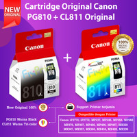 SET Canon PG810 CL811 Original Cartridge Tinta Printer iP2770 MP287