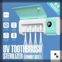 UV Sterilizer Family Toothbrush Holder Rak Tempat Sikat Gigi Steril