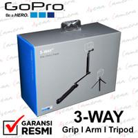 Gopro 3-Way Grip Arm Tripod Tongsis Monopod Original