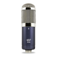 MXL R144 - Ribbon Microphone with Shockmount