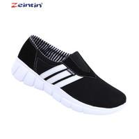 Sepatu Kets Branded Zeintin Canvas Hitam Original 4959 Rizqi Ayu