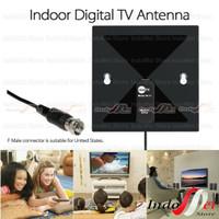 Clear Tv X - 71 HDTV Digital Indoor Antena Dalam Model Kotak X-71 HD