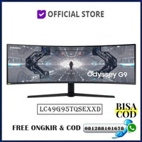 """Monitor Led Samsung Gaming Odyssey G9 C49G95 LC49G95TQSEXXD 49"""" Curved"""