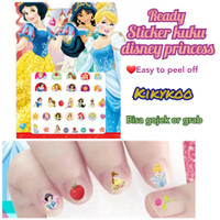 sticker kuku disney princess jasmine belle snow white