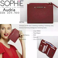Dompet wanita lipat promo Sophie Martin dompet audria Sophie Martin