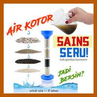 Mainan Edukasi Anak SD Menjernihkan Air - Eksperimen Sains Anak Water