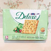 Kerk Deluxe Biskuit Vegetable 192 gr / Biscuit Cracker Sayur Sayuran