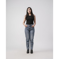 GRESSY JEANS - Mom Jeans - Snow Whisker