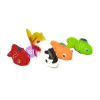 Mainan Vynil Karet Ikan Mas 4 pcs No.B 837