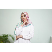 Rosabella scarf by HERA.COLLECTIONS - Pink Blue