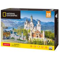Cubicfun 3D Puzzle National Geographic Series - Neuschwanstein Castle