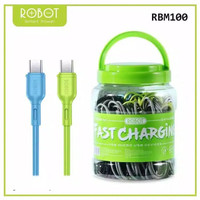 ROBOT Kabel data RBM100 colourfull Data cable MICRO USB