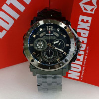 Jam tangan pria expedition 6402MC rantai