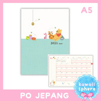 Disney Mickey / Pooh Planner 2021 Size A5 | Monthly Planner