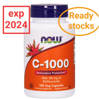 Now Foods, C-1000, 100 Tablets, vitamin C