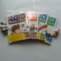 Buku Cerita anak Felix wants to be rich seri 1 2 3 4 set Paket Langka