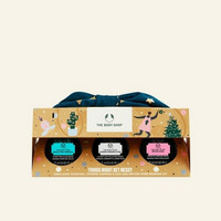 The Body Shop Gift TRIO SMALL MASK Masking Kit Paket Masker Wajah