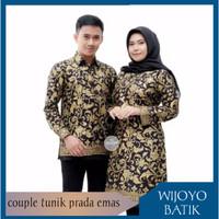 Batik couple modern kekinian muslim keluarga atasan jumbo kantoran 06