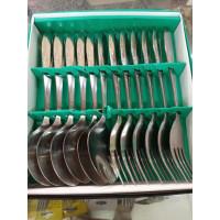 Atashi Sendok Garpu Makan Set Stainless steel Tebal 12pcs