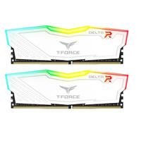 Team Delta DDR4 2X16GB 3200Mhz RGB LED - White Heatspreader