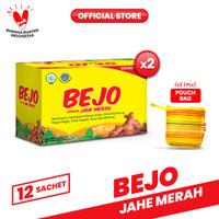 Bejo Jahe Merah Sachet 2 Pack (24 Sachet) FREE Pouch