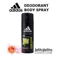 ADIDAS PURE GAME DEO BODY SPRAY 150ML / DEODORANT PRIA