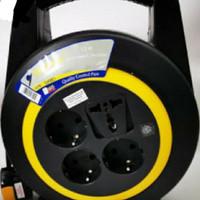 Yunior Kabel Roll Turbo 15Mtr + Lampu - LY 117
