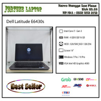 Dell Latitude E6430s |Core i7-Gen 3 |Camera - RAM 4-HDD 500