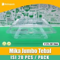 MIKA JUMBO TEBAL - MIKA BOLU KUE JUMBO TX 01 - FOODSAFE - 20 PCS