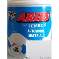 Cat Tembok 5 Kg TERMURAH Aries Avitex Avian Putih (Super White SW)